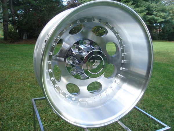 19.5 X 6.75 DIRECT BOLT CHEVY FORD DODGE DUALLY WHEELS price is per