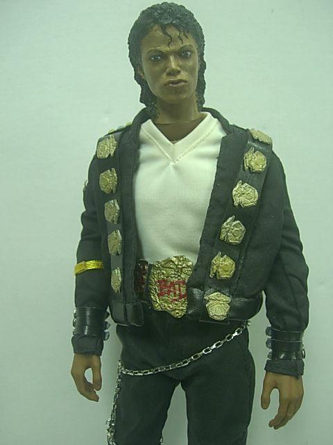 12 Hot Custom Michael Jackson   BAD Costume 1/6 Scale Action Figure