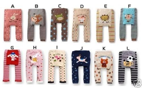 baby toddler boys girls Leggings Tights pants socks