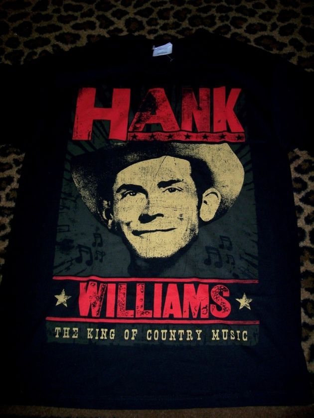 HANK WILLIAMS SR Outlaw Country T SHIRT M VINTAGE ROCK
